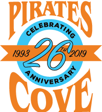 Pirate's Cove Tropical Bar & Grill Logo
